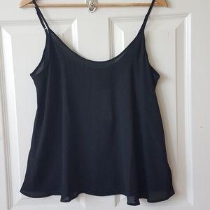 NWTApt 9 Black Swing Camisole Straps Adjust Sz M!